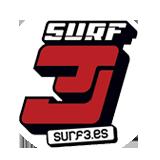 Logo surf old round
